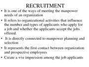 Recruitment (Assignment)