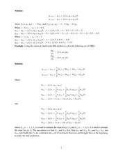 MATH 261 Multistep Methods Notes