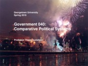 Government 040 Spring 2016 Lecture 0