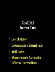 06-Chapter 6 - Interest Rates.ppt