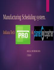 Research Of Manufacturing Scheduling system.pptx