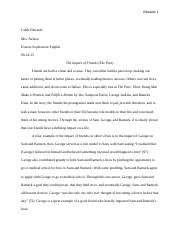 The Pact Essay