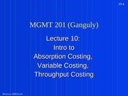 MGMT_201_(Ganguly)_Lecture_10