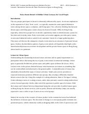 GEOG2057 Project 2 Essay