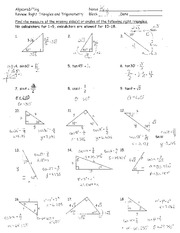 MATHEMATIC Algebra 2/ - CBS - Page 1 - Course Hero