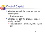 CF2 Ch 01 Review of Term Structure of Interest Rates