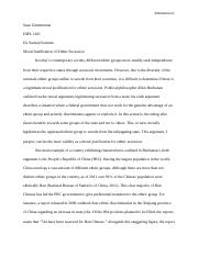 DIPL 2101 Moral Arguments for Secession.docx