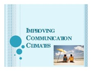 2011 Ch10 Improving Communication Climates