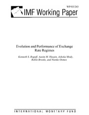 Rogoff et al - Evolution and Performance of Exchange Rate Regimes