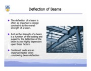 Beam Deflections Notes