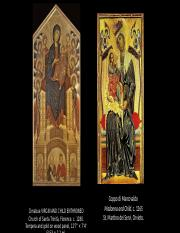 Cimabue VIRGIN AND CHILD ENTHRONED