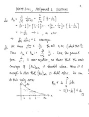 MATH 3001 Fall 2013 Assignment 1 Solutions