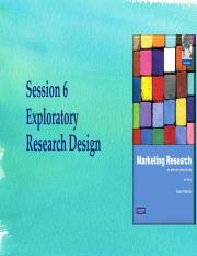 Updated session 6  - Exploratory research design.pdf