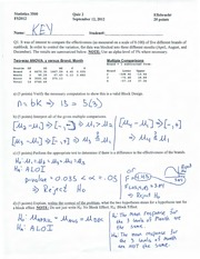 Quiz 2 Solutions (Two-Way Anova)
