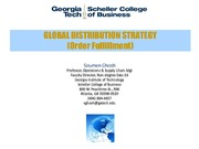 Week-12_Global Distribution _Order Fulfillment_ Strategy