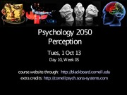 day 10 - parapsychology