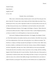 Rhetorical Analysis and Critique Essay WORD
