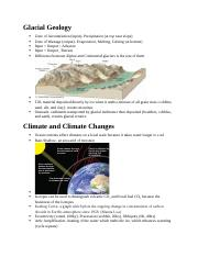 Glacial Geology.docx