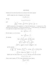 Midterm 1 Practice Problems Solutions