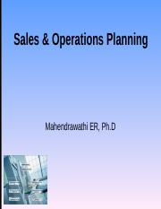 PSDP 4 Sales and Operation Planning Gasal1011