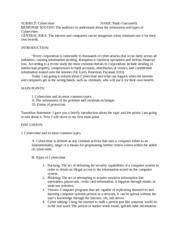 Outline for speech class?