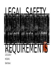 Legal, Safety, and Regulatory Requirements.pptx