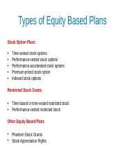 Class Presentation 7C- Equity based Pay.ppt