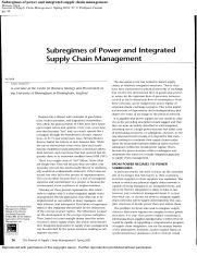 subregimes of power and intergrated scm.pdf