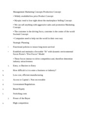 Principles of Marketing Notes #3