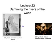 Lecture 23 Dams