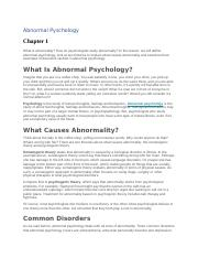 Abnormal Pyschology.docx