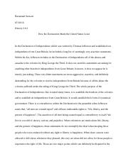 declaration of independence reflection.docx