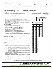 SAT Online Course Test 6-www.cracksat.net
