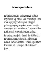Lecture 12 Perlembagaan Malaysia.ppt