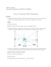 Exercises L7 Solutions
