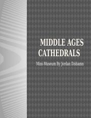 Middle ages cathedrals