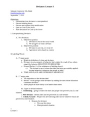 Lecture 3 notes