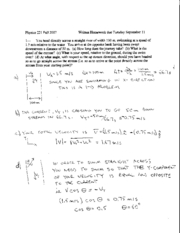 Written Homework 3 Solutions