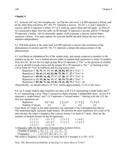 Probability and Simulation Homework Solutions
