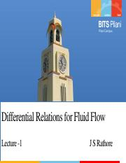 1-Differential relations for fluid flow.pdf