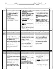 Copy of Biology Rubric