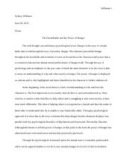 essay 3 book review