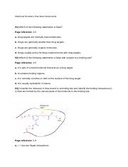 Medicinal Chemistry Final Exam Study Guide to post.doc