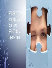 Perspective Taking and ASD [Autosaved].pptx