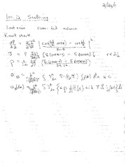 Lecture Notes L on Electricity and Magnetism