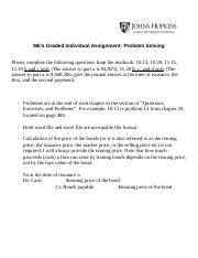 M6's Graded Individual Assignment Problem Solving (2).docx