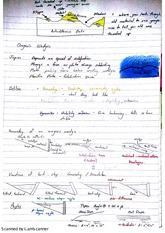 Structures Orogeny and Kinematics Exam Revision Notes
