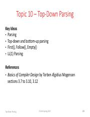 Topic 10 Top-Down Parsing.pdf