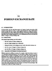 L-34 FOREIGN EXCHANGER RATE