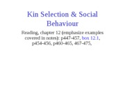 Kin_Selection___Social_Behaviour